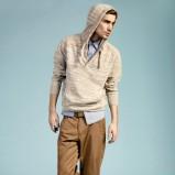 brązowe spodnie Reserved - wiosna-lato 2012