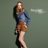 brązowe szorty Bershka - jesień/zima 2010/2011