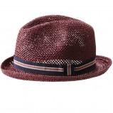 brązowy kapelusz H&M przezroczysty - lato 2012