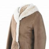 brązowy kożuch Wittchen - z kolekcji jesień-zima