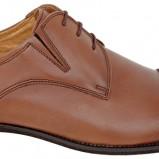 brązowy pantofle Wojas - sezon jesienno-zimowy