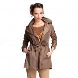 brązowy płaszcz Quiosque - kolekcja wiosenno/letnia