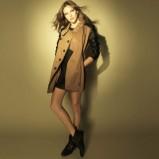 brązowy płaszcz Stradivarius - jesień/zima 2011/2012