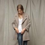 brązowy płaszcz ZARA - kolekcja jesienno-zimowa
