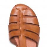 brązowy sandały Ryłko - lato 2011