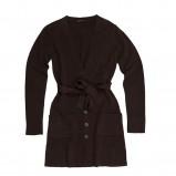 brązowy sweter Bialcon długi - jesień/zima 2011/2012