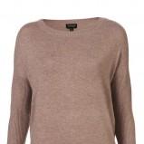 brązowy sweter Topshop - z kolekcji wiosna-lato 2011