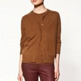 brązowy sweter ZARA - jesień/zima 2011/2012