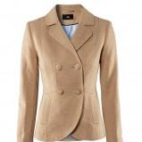 brązowy żakiet H&M - sezon wiosenno-letni