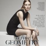 British Vogue luty 2013 - Suvi Koponen