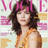 British Vogue sierpień 2010 - Freja Beha Erichsen