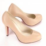 buty ślubne Baldowski z czerwoną podeszwą