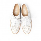 buty ślubne Jeffrey Campbell płaskie