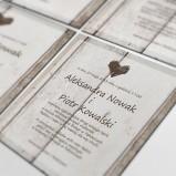 Cartolina - zaproszenia ślubne