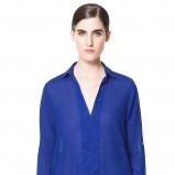 chabrowa koszula ZARA - moda 2013