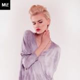 cieniowana bluzka Mulholland w kolorze fioletowym - lato 2013