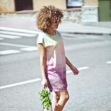 cieniowana sukienka Springfield - lato 2013
