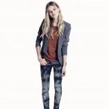 cieniowane spodnie H&M - spodnie na wiosnę