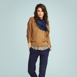 ciepły sweter Jackpot w kolorze brązowym - wiosna 2013
