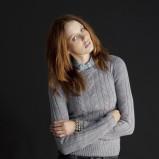 ciepły sweter Terranova w kolorze szarym - moda na zimę 2013