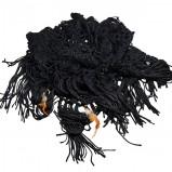 czarna apaszka Glitter - wiosna/lato 2012