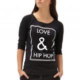 czarna bluzeczka Reserved - moda na zimę