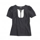 czarna bluzka Bialcon - jesień/zima 2011/2012