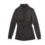 czarna bluzka Bialcon marszczona - jesień/zima 2011/2012