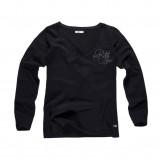 czarna bluzka Big Star z napisami - jesień/zima 2011/2012