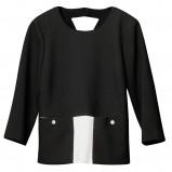 czarna bluzka H&M - kolekcja wiosenno/letnia