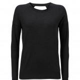 czarna bluzka InWear gładka - jesień/zima 2012/2013