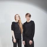 czarna bluzka - jesień/zima 2011/2012