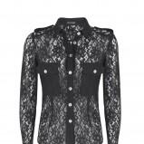 czarna bluzka Marks & Spencer - kolekcja jesienna