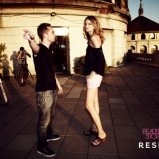 czarna bluzka Reserved - wiosna/lato 2011
