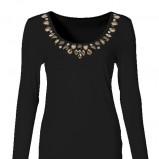 czarna bluzka Takko Fashion - zima 2013