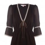 czarna bluzka Tally Weijl z koronką - trendy wiosna-lato