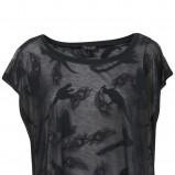 czarna bluzka Topshop - jesień/zima 2010/2011