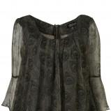 czarna bluzka Topshop - jesień/zima 2010