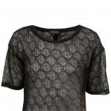 czarna bluzka Topshop - moda jesień/zima 2010
