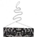 czarna kopertówka Cubus z cekinami - letnie trendy