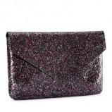 czarna kopertówka H&M z brokatem - sylwester 2012/13