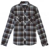 czarna koszula Cropp w kratkę - jesień/zima 2010/2011