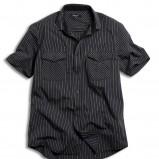 czarna koszula Kappahl w paski - z kolekcji wiosna-lato 2011