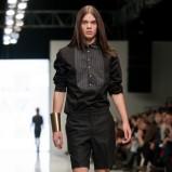 czarna koszula Polygon - moda wiosna/lato