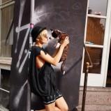 czarna koszulka Adidas - kolekcja wiosenno/letnia