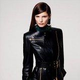 czarna kurtka H&M - trendy zimowe