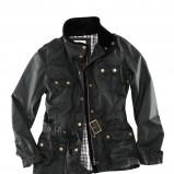 czarna kurtka H&M ze skóry - jesień/zima 2011/2012