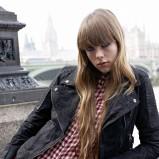 czarna kurtka Pepe Jeans skórzana - jesień 2012