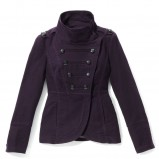 czarna kurtka Reserved - wiosenna kolekcja