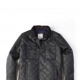 czarna kurtka Springfield pikowana - kolekcja jesienno-zimowa